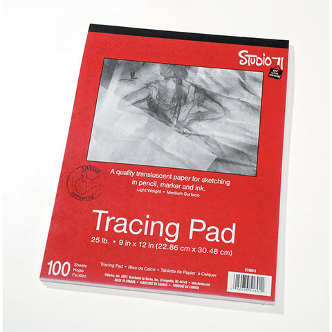 Tracing Paper Pad 9