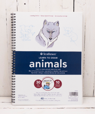 Animals Learn to Draw Pad
