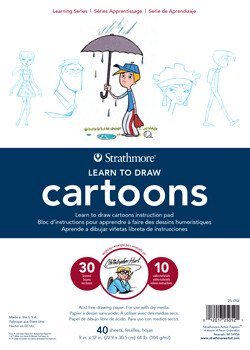 Cartoons Learn to Draw Pad
