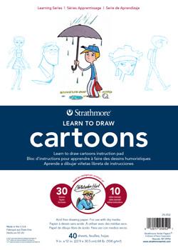 Cartoons Learn to Draw Pad