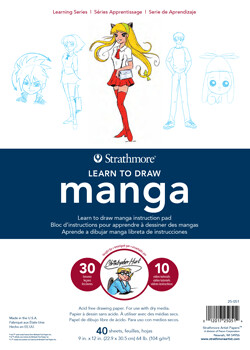 Manga Learn To Draw Pad