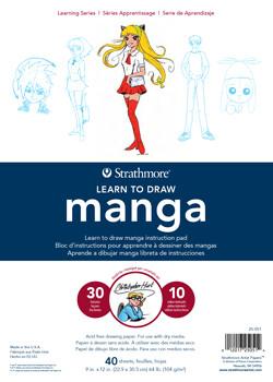 Manga Learn To Draw Pad