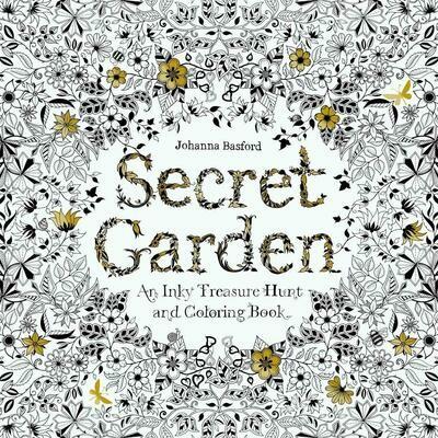 Secret Garden- Chronicle Books Coloring Book