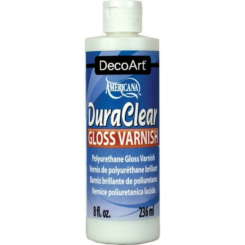 Dura Clear Gloss Varnish 8 fl oz