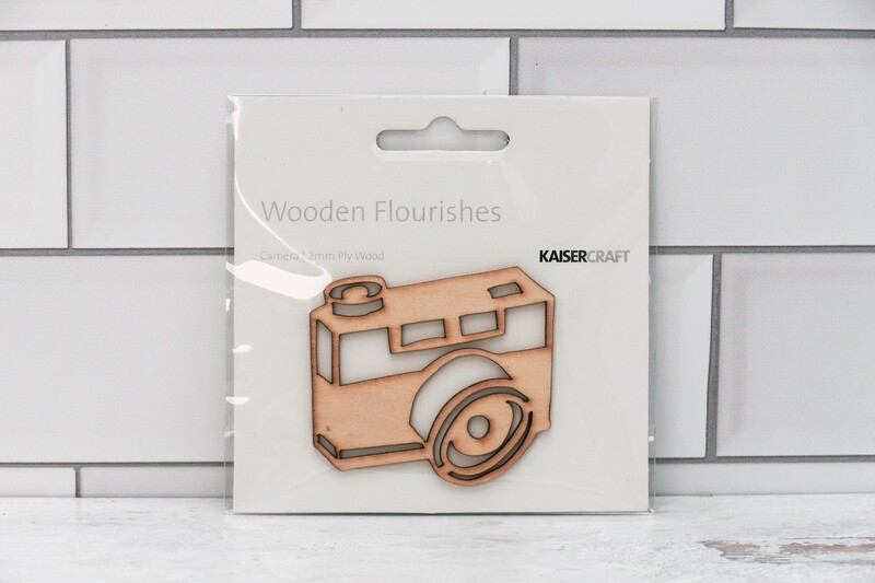Camera Wood Flourish