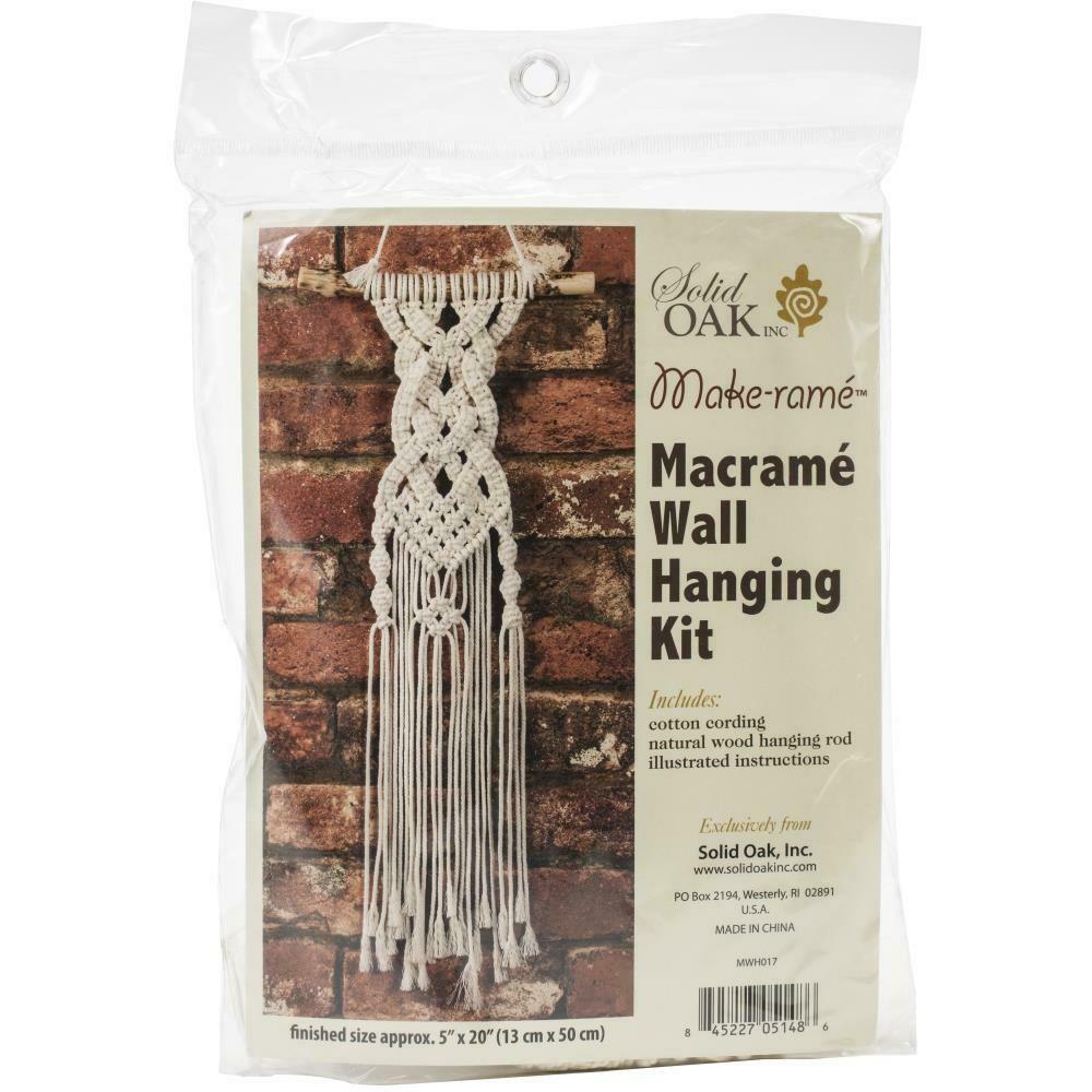 Celtic Braid Macrame Wall Hanging Kit