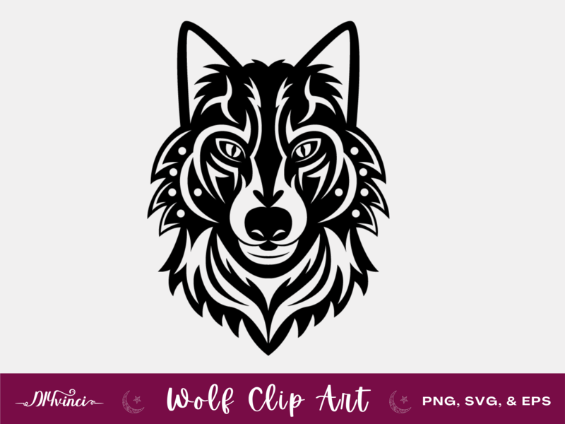 Wolf Clip Art - PNG, SVG, EPS - Personal & Commercial Use