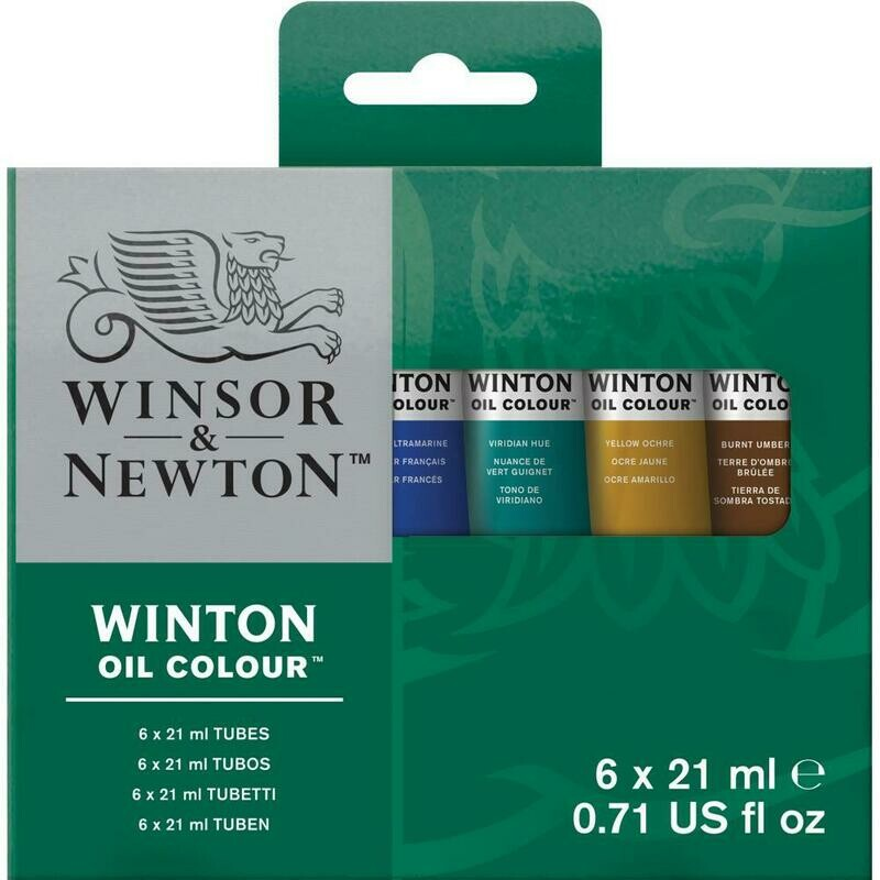Winsor & Newton Oil Paint Introductory Set of 6