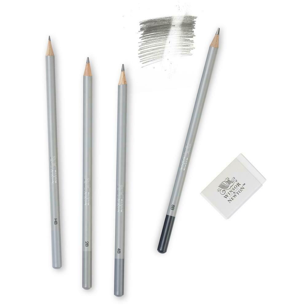 Winsor & Newton Graphite Pencil Set 5 pc Soft