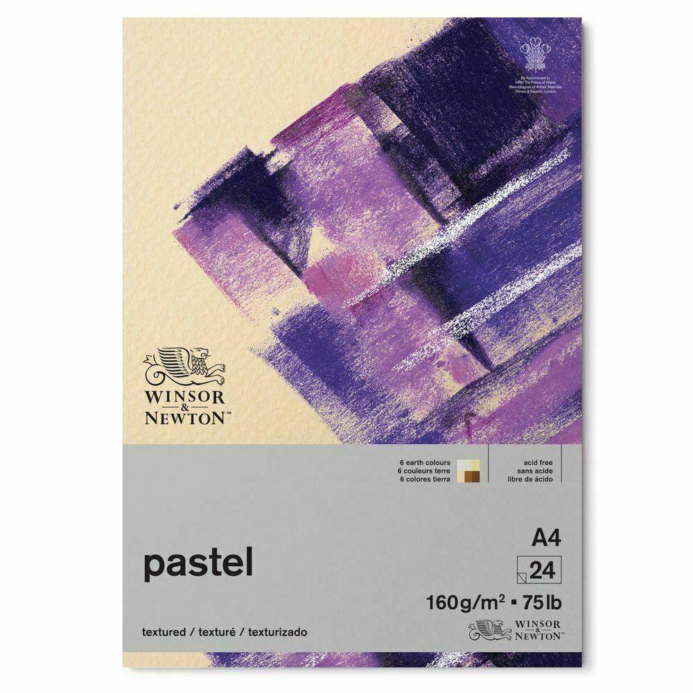 Winsor & Newton Pastel Paper Pad - 6 Earth Colors 24 sheets