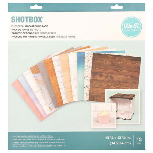 Shotbox Background Pack 12 pieces