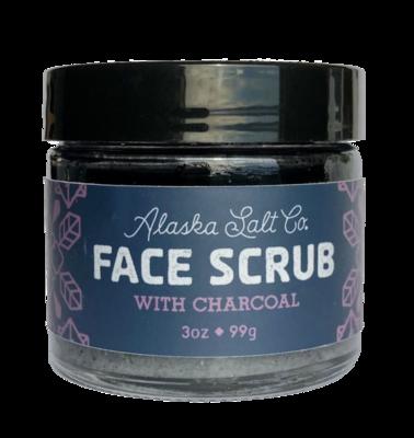 Alaska Salt Co Face Scrub