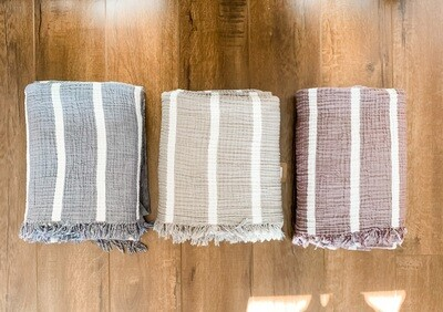 olive and loom throw