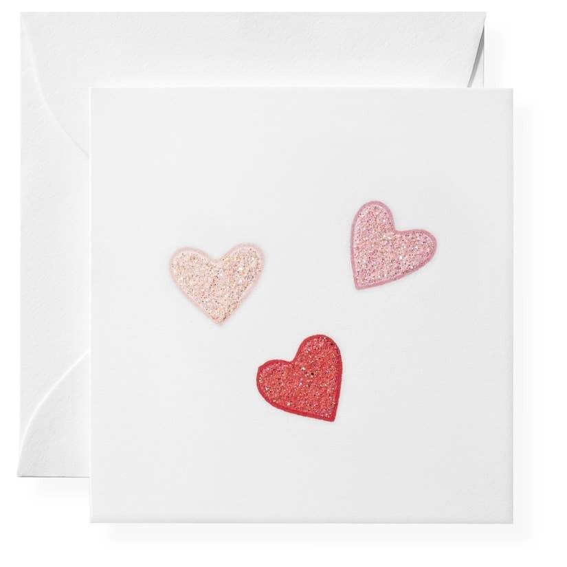 Hearts Individual Enclosure Cards