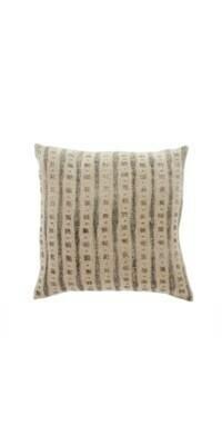 lula black linen pillow