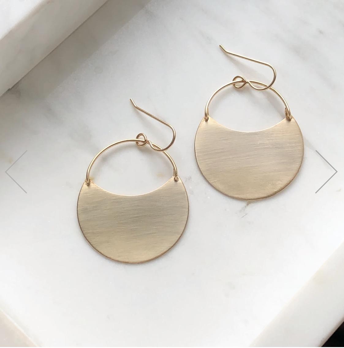 Token Jewelry - theia earrings from