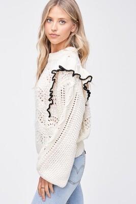 EN - ruffled sweater