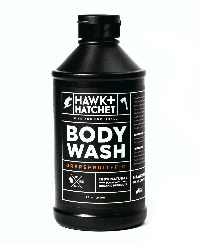 Hawk + Hatchet - body wash 12 oz