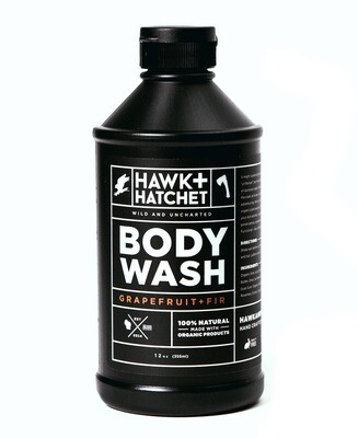Hawk + Hatchet - body wash 12 oz