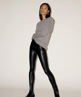 NIA - vegan leather legging