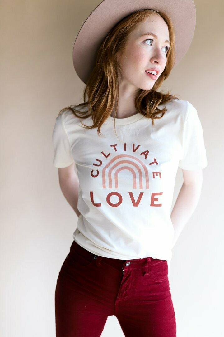 Polished Prints - Cultivate Love Tee