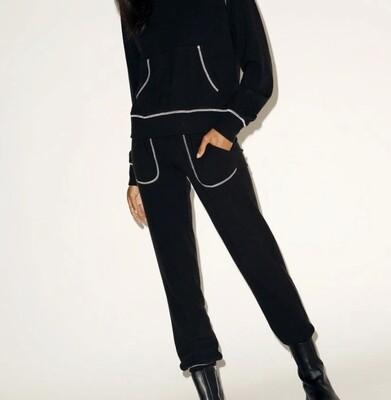 NIA - contrast stitch jogger