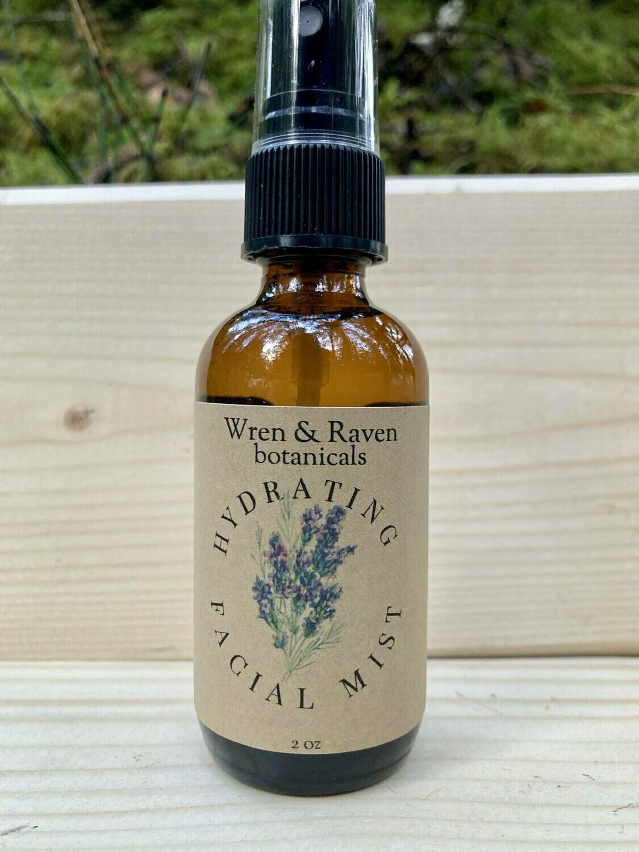 Wren & Raven botanicals - facial mist