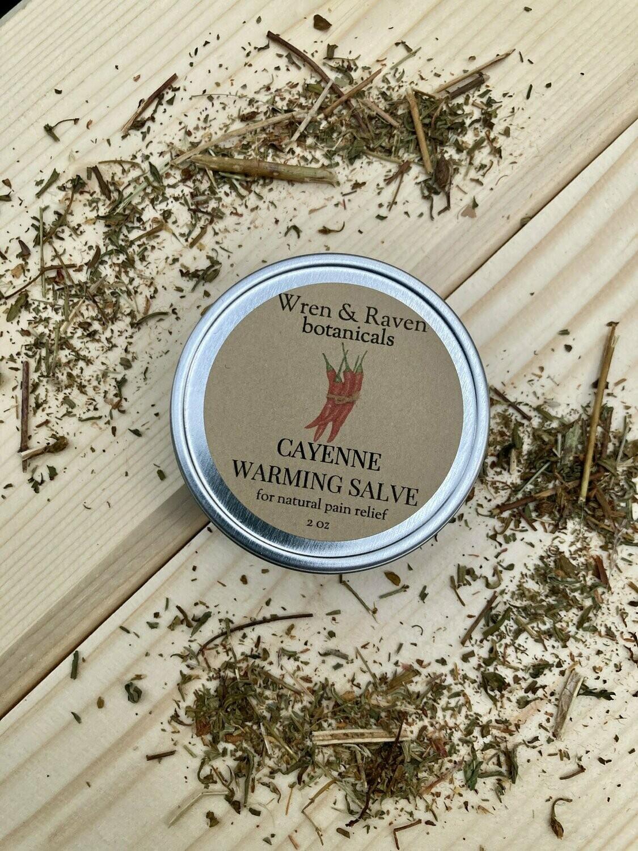 wren & raven botanicals - Cayenne warming salve