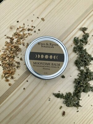 wren & raven botanicals - moontime balm