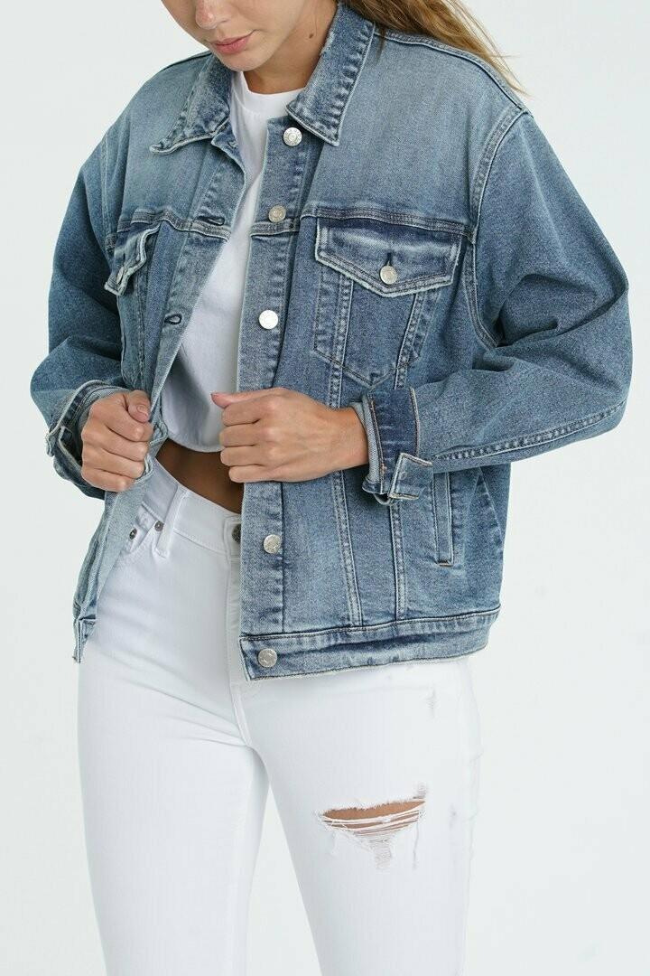 DAZE Denim - Ex Boyfriend Relaxed Fit Jacket