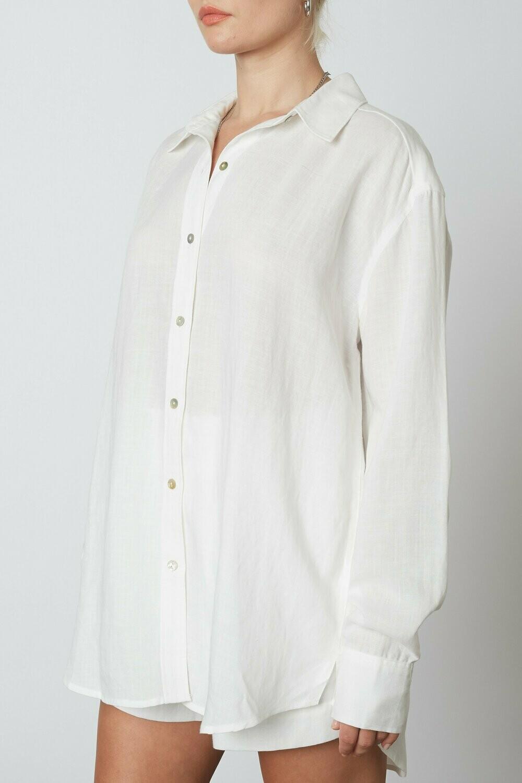 NIA - Oversized Linen Shirt