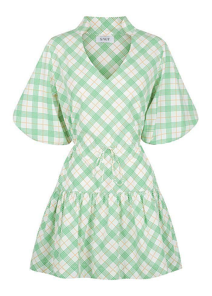 S/W/F - Mini Collar Dress