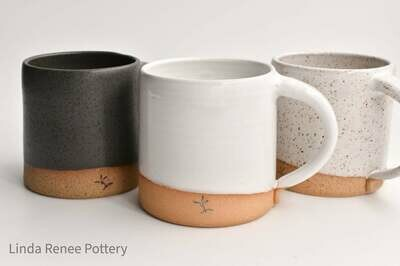 Basic Mugs - By Linda Renee Pottery