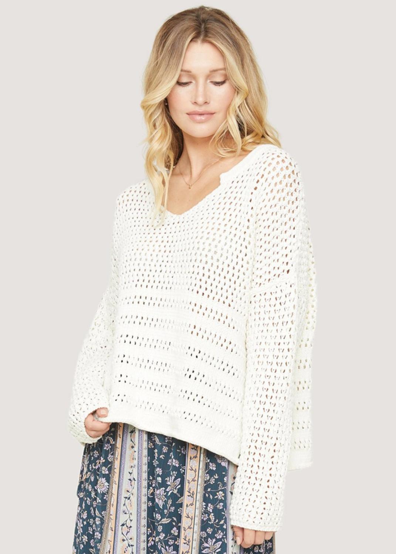 Lost + Wander - sundown boxy sweater