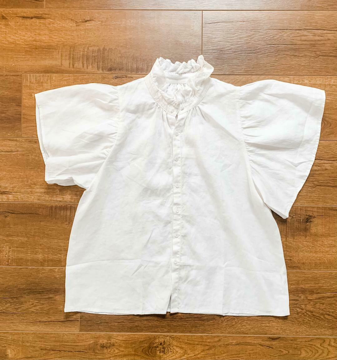 ACACIA  - Mimi Cotton Top in Ivory