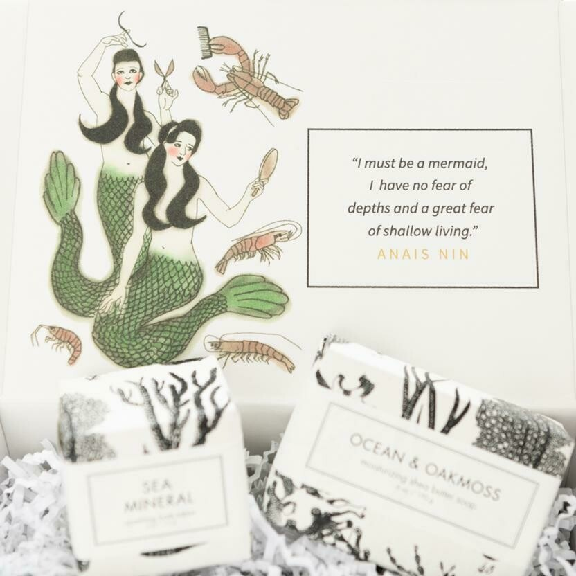 Song of the Siren Sea Inspired Beauty  Box