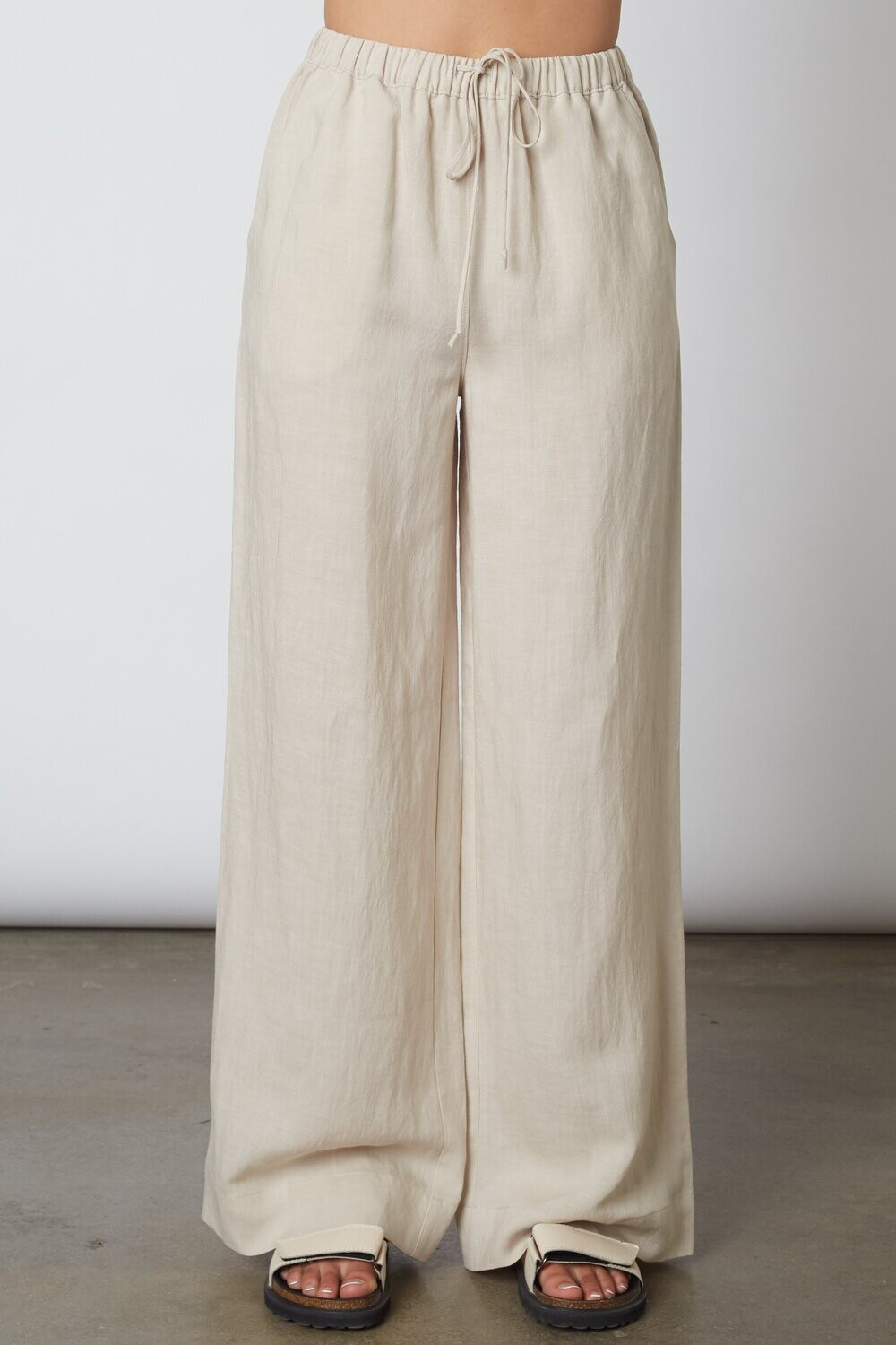 NIA - Linen Pull on Pant