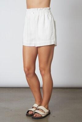 NIA - Linen Paper Bag Shorts