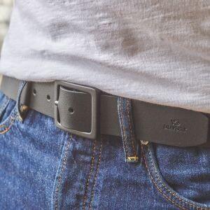 BILLYBELT - Black Leather Belt
