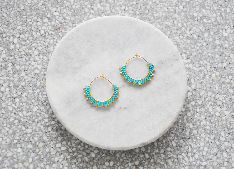 Wool & Moon - Creole Mini Earrings