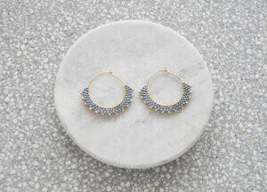 Wool & Moon -   Creole Earrings
