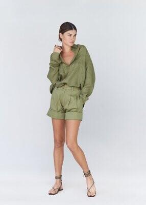 acacia - tash cotton twill short