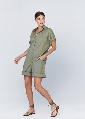 acacia - oliver jumpsuit in slate