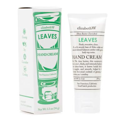 elizabethW - leaves hand cream