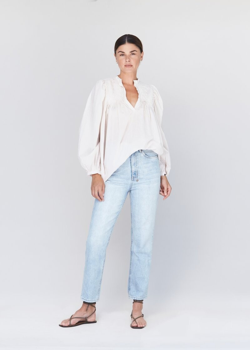 ACACIA - Tally Top in Ivory