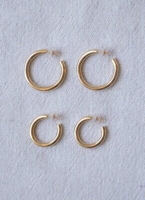 Desert Rose Jewelry - Golden Hoops