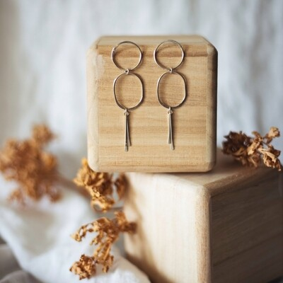 Desert Rose Jewelry - Boulder Earrings