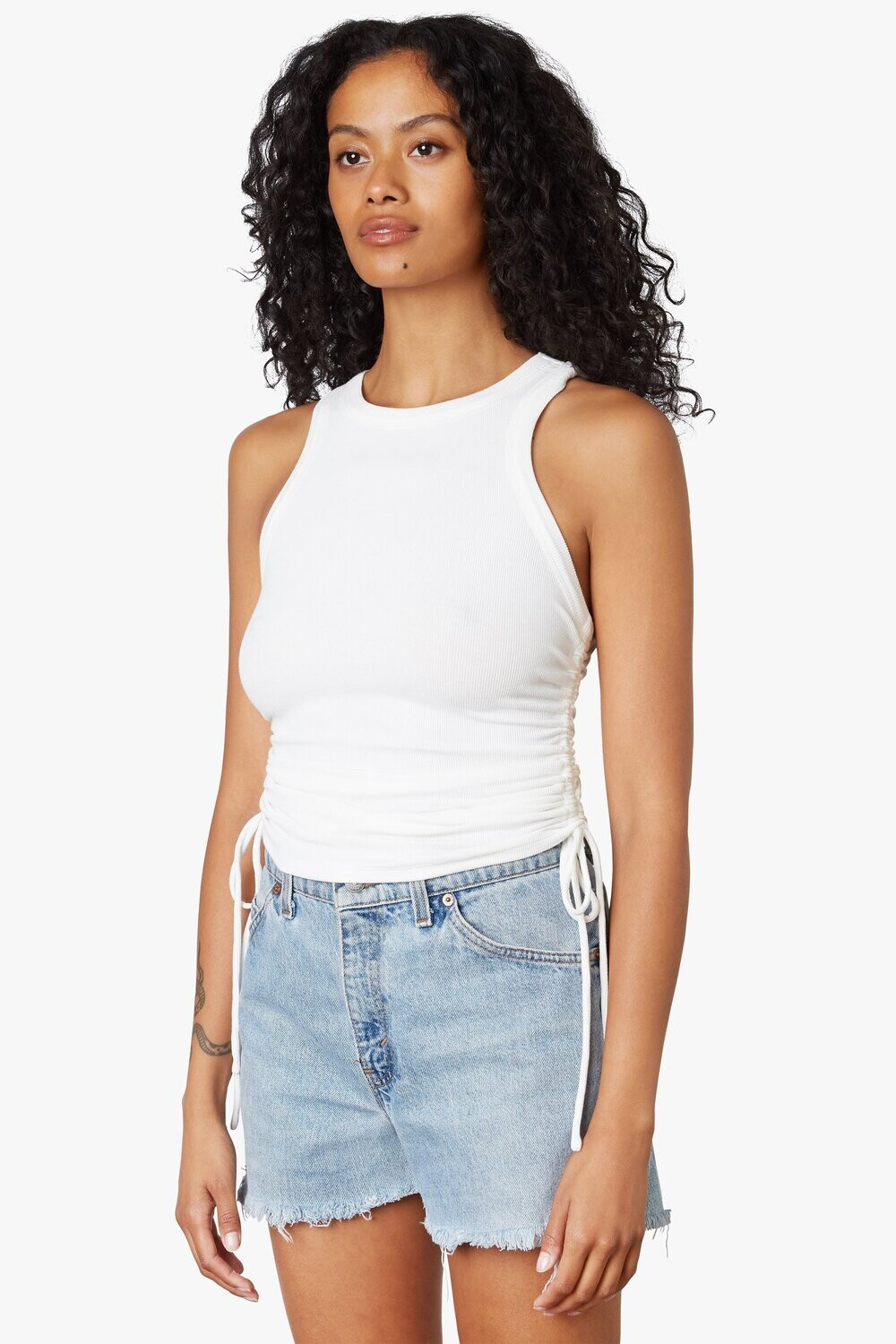 NIA - Cinched Racer Tank