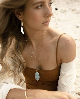 Token Jewelry - Arc Necklace