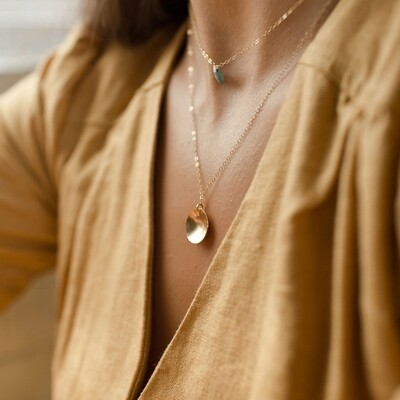 Token Jewelry - Cove necklace